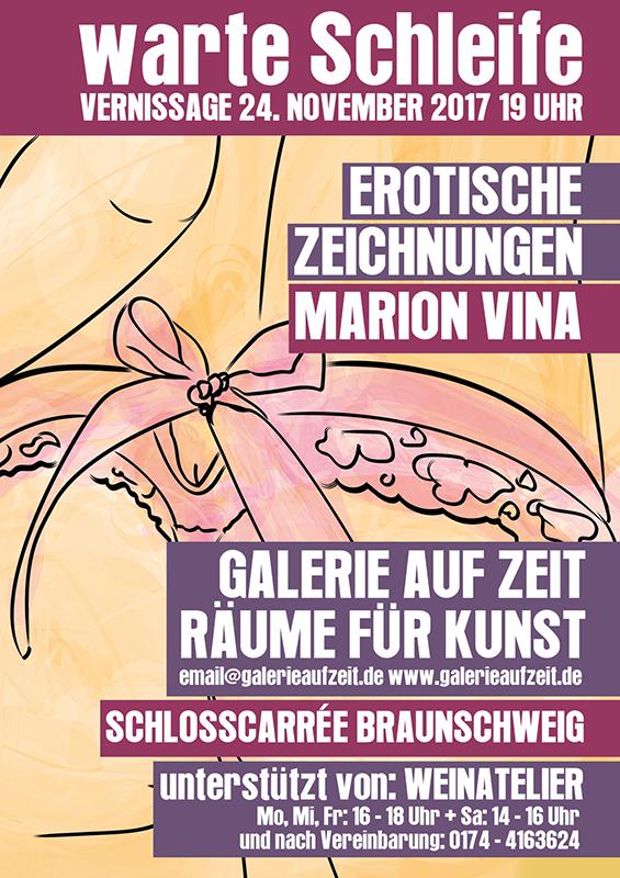 Ausstellung in der Galerie auf Zeit, in Braunschweig