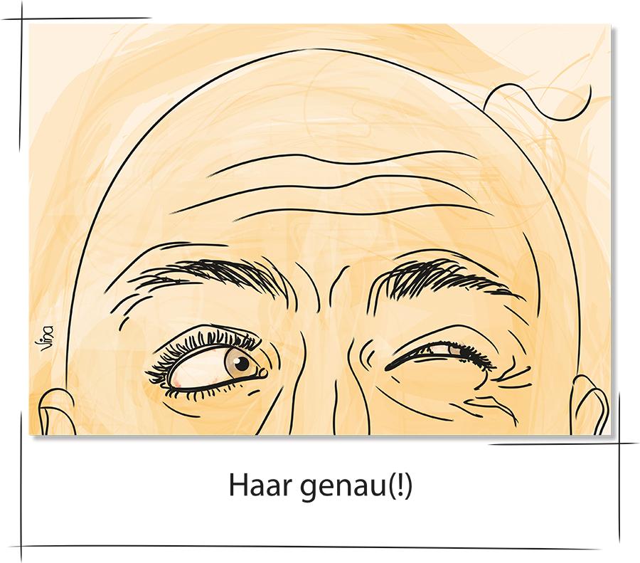 haargenau